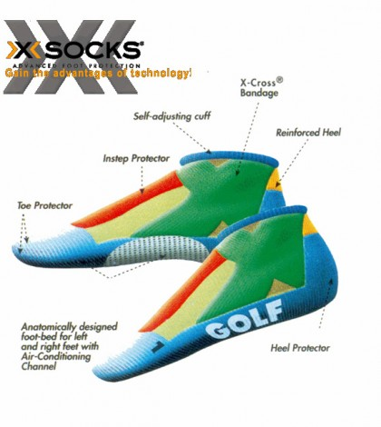 Ladies Golf Xsocks-600