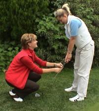 Women Golf Professional Lisa Nicole Instruction