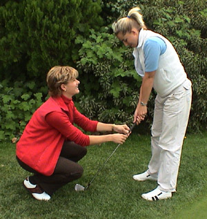 Women Golf Professional Lisa Nicole Instruction