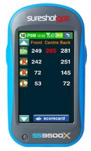 Sureshot GPS SS9500X Greens adn Aerial View 200